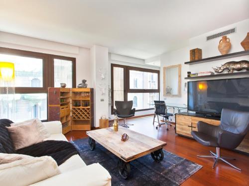 Rambla Luxury Apartment休息區