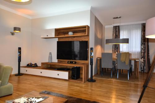 A television and/or entertainment center at Rosehill Side Apartment