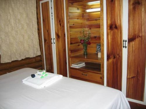 Spa and/or other wellness facilities at Luxurious Baguio Log Cabin