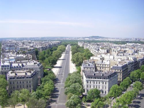 A bird's-eye view of Luxury Duplex Amazing View