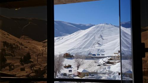 MzaarViews Chalets during the winter
