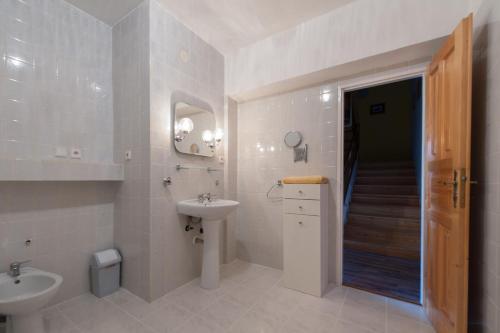 A bathroom at Czech Family Home