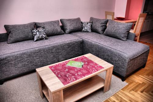 A seating area at Apartman Milkovic 2