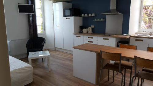 Küche/Küchenzeile in der Unterkunft Le Mole
