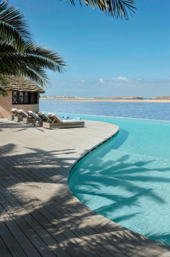 The swimming pool at or close to La Sultana Oualidia