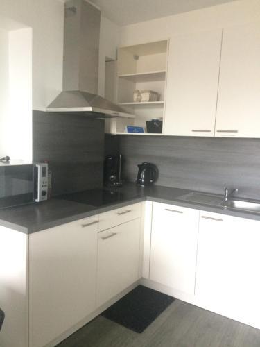Η κουζίνα ή μικρή κουζίνα στο Studio Kristof 705