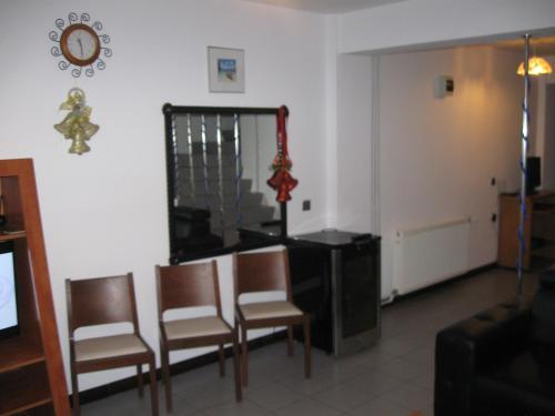 O zonă de relaxare la Vila Lucian