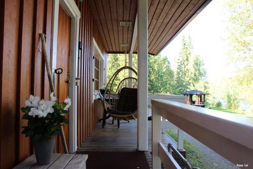 A balcony or terrace at Namman Maja