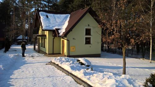 Obiekt Apartments Dom Całoroczny zimą