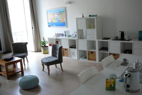 A seating area at 2 Bedrooms Appartement In Central Location on the famous Place Massena Nice