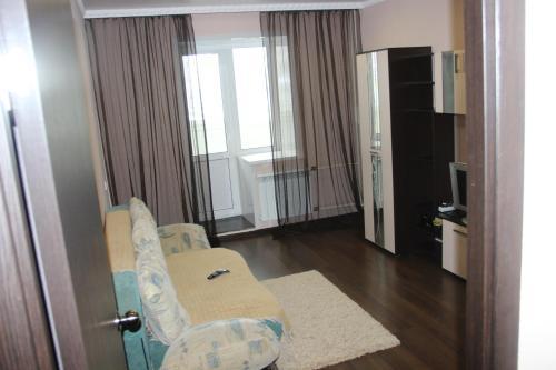 Телевизор и/или развлекательный центр в Апартаменты на Суворова 161