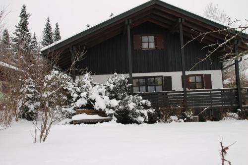 Waldferienhaus during the winter