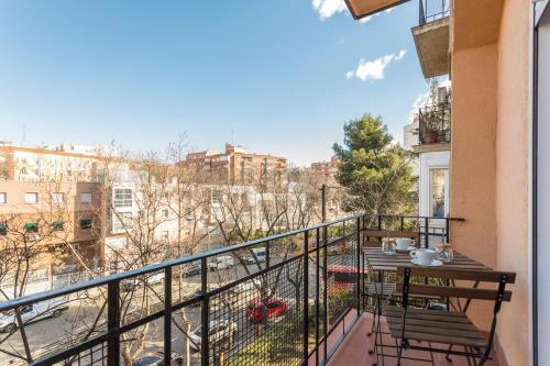 A balcony or terrace at Life Style Madrid Center
