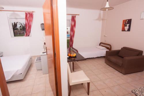 A bathroom at Marika's Apart's & Studios