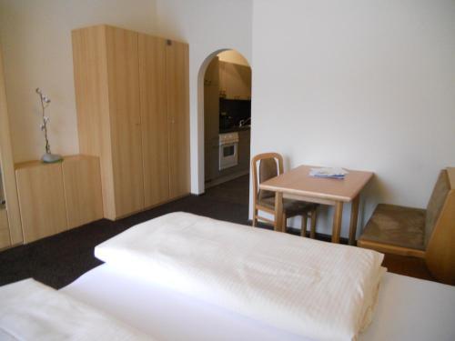 Llit o llits en una habitació de Appartementhaus Wetterloch