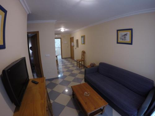 A seating area at Apartamentos Niña de Oro