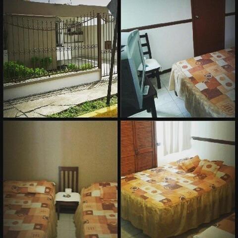 Cama o camas de una habitación en Suites Ripoll Alameda