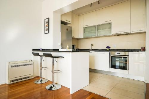 A kitchen or kitchenette at Apartment Zara Bianca