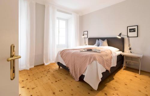 Ein Bett oder Betten in einem Zimmer der Unterkunft Apartment Heart of the City Center