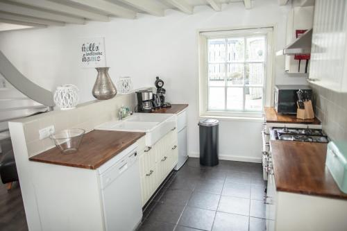 A kitchen or kitchenette at Swaluestraat3