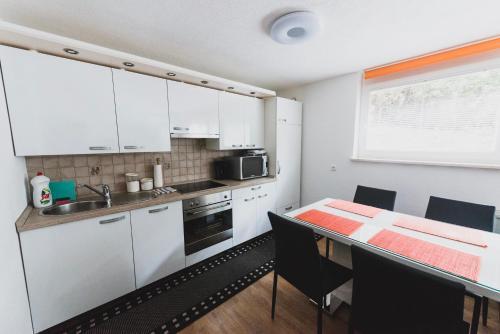 Kuhinja oz. manjša kuhinja v nastanitvi Apartment Berglez