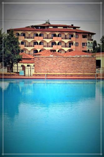 Πισίνα στο ή κοντά στο Chris & Eve Mansion