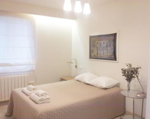Cama o camas de una habitación en Apartamento Bellavista