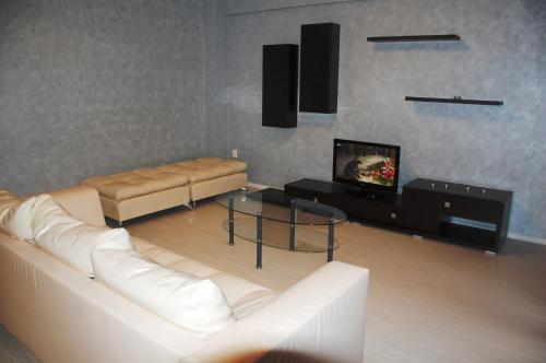 A television and/or entertainment center at Apartament Casino