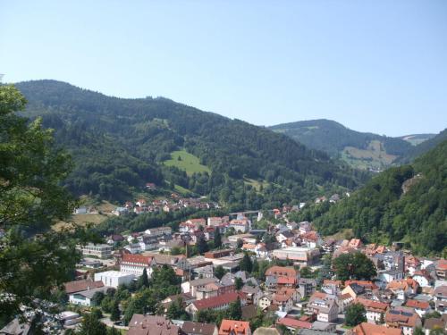 A bird's-eye view of Ferienhaus Post