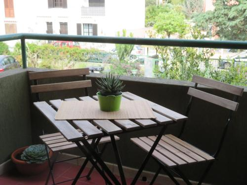 A balcony or terrace at Fede & Francy
