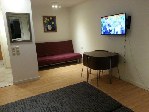TV/Unterhaltungsangebot in der Unterkunft Holiday Apartment Zwinger