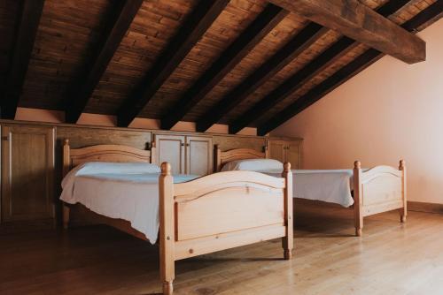 Zelai-Eder 객실 침대