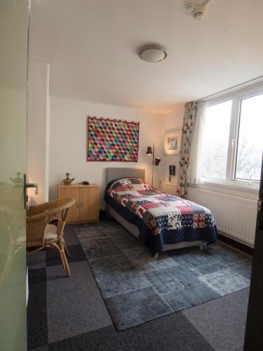 Een bed of bedden in een kamer bij Hotel Adolesce