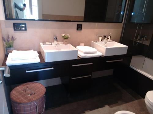 A bathroom at Apartamento San Fernando