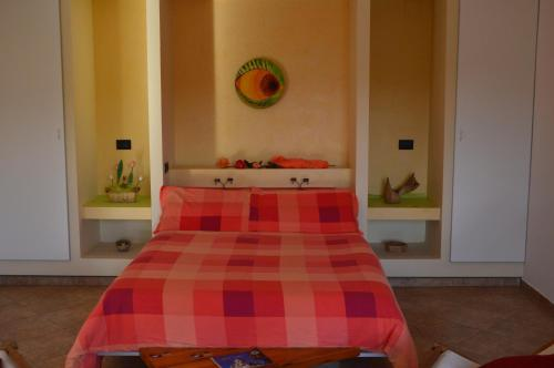 A bed or beds in a room at Casa Cora