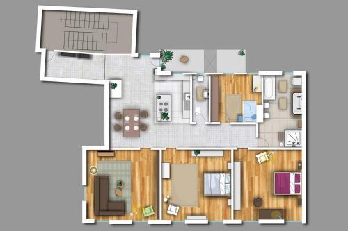 The floor plan of Gunther49
