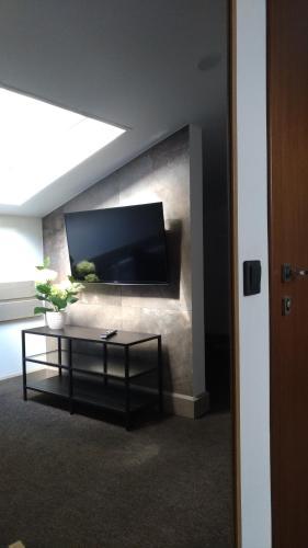 Телевизор и/или развлекательный центр в PEOPLE Red Square Hotel