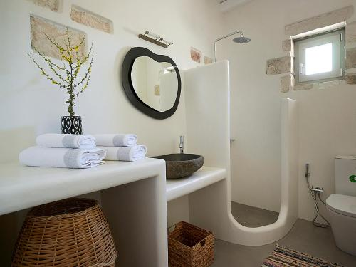 A bathroom at Studio Vipera