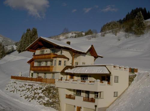 Landhaus Lindorfer during the winter