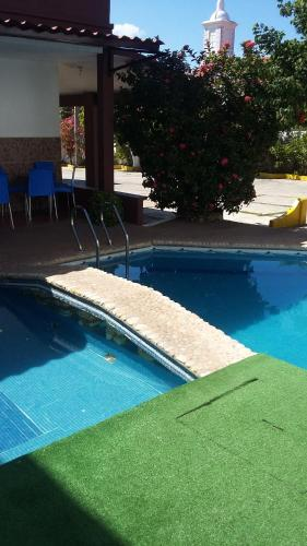 The swimming pool at or near Hotel Mallorca
