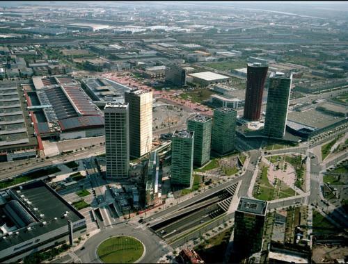 Vista aerea di Fira Barcelona El Prat Apartment