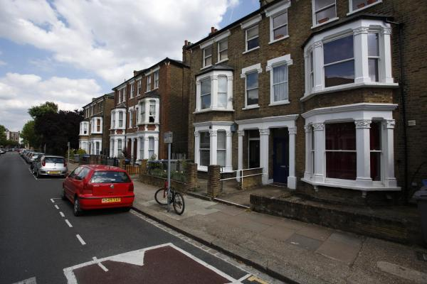 House Dyne Road - Kilburn in London, Greater London, England