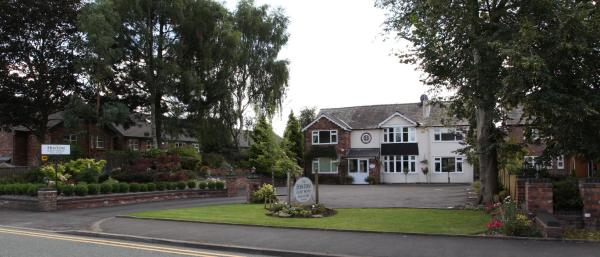 The Hinton Guest House in Knutsford, Cheshire, England