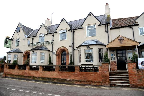 Unicorn Hotel by Marston's Inns in Lowdham, Nottinghamshire, England