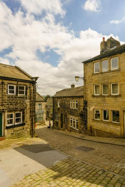 The Cross Inn in Heptonstall, West Yorkshire, England
