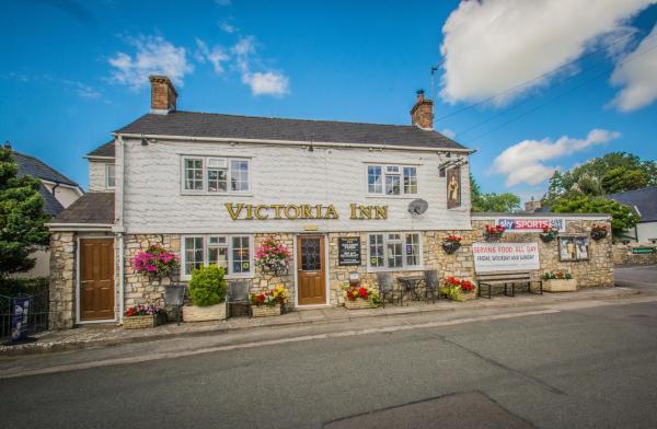 Victoria Inn in Cowbridge, Glamorgan, Wales