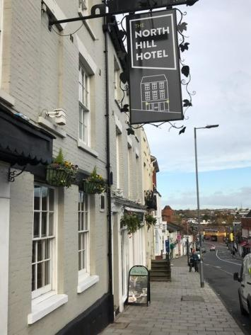 The North Hill Hotel in Colchester, Essex, England