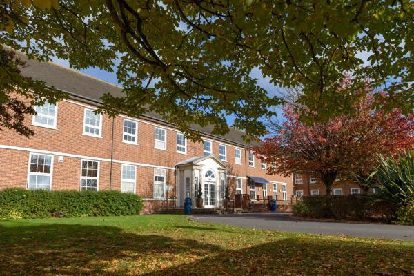 Mitchell Hall in Cranfield, Bedfordshire, England