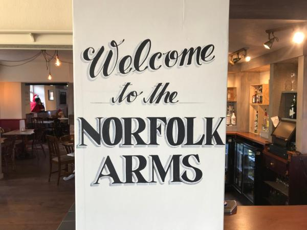 The Norfolk Arms in Chapeltown, South Yorkshire, England