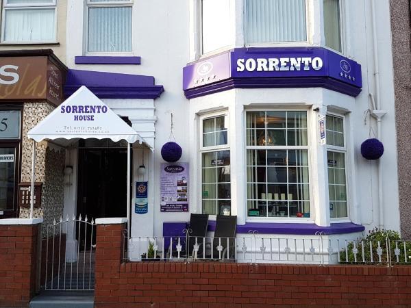 Sorrento House in Blackpool, Lancashire, England